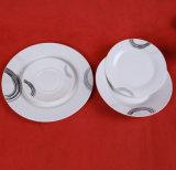 Un meilleur jeu de dîner en céramique à la maison, vaisselle de porcelaine