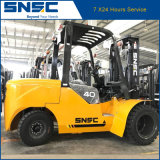Forklift do diesel 4t do motor novo de China Isizu mini