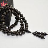Tmb-023 6mm Buddhas der Raupe-108PCS Kopf bördelt Armband im Healtch Sorgfalttourmaline-Material