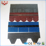 Tipo assicella variopinta della scala di pesci di prezzi bassi dell'asfalto coperta di materiale del grano minerale