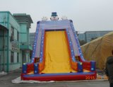 PVC Tarpaulin Commercial Giant Inflatable Slide From The Original Manufacturer di Custom Design 0.55mm del parco di divertimenti
