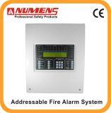 2017 Sistema de segurança de alarme de incêndio endereçável profissional de 1 loop (6001-01)