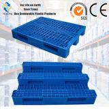 De standaard Plastic Pallet van de Bodem van 3 Agenten van de Grootte 1200X1000 Medium-Duty