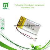 Bluetoothユニバーサルキーボードのためのスマートな602035 3.7V 400mAh Lipo電池