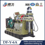 Saleのための中国Leading DfY 4T Portable Geological Rock Drill Rig