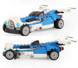 Heißer Verkaufs-Plastik 3 in 1 flachem Roboter-Auto blockt Spielzeug