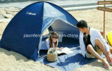 携帯用銀は浜のテントが人によってが現れる防水2-3に塗った