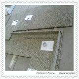 キッチンプロジェクトのための中国のゴールデン御影石のカウンター
