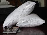 Роскошная белая чисто гусына утки крышки хлопка вниз Pillow для дома/гостиницы