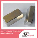 Super starker kundenspezifischer N35 N50 Block-permanenter Neodym NdFeB Magnet für Motoren