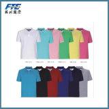 Chemise de polo estampée par mode de coton d'hommes ou de dames pour l'été