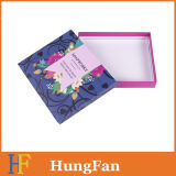Rectángulo de regalo del papel de estructura simple/rectángulo de papel promocional para el empaquetado del regalo