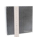 Substrato metallico del favo per purificazione industriale del gas di scarico