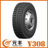 放射状タイヤ、TBRのタイヤ、すべての位置の車輪、チューブレスタイヤ