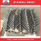 切断の曲がる溶接の打つ鋼鉄足および鋼鉄ブラケットを製造しなさい