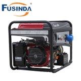 ガソリン機関によって動力を与えられるFusinda 6kwの電気発電機
