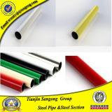 Tubi d'acciaio saldati ricoperti plastica Colourful
