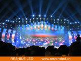 Alquiler de interior LED, pantalla orientada hacia el servicio delantera de Reshine P3.91