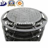 Крышка люка -лаза отливки формовочной земли утюга OEM с дуктильным утюгом
