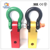 Heavy Solid Shankle Shackle D-Ring Recovery Hitch Receiver