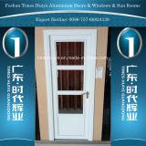 Decoración tradicional interior de aluminio puerta abatible