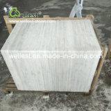 別荘または家またはホテルの床および壁ののための中国の白い大理石のタイルクラッディング