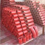Fornitore per il gomito della pompa per calcestruzzo di Dn125xr275X90d