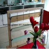 6mmのルーバーガラスFror飾のガラスBulidingガラス