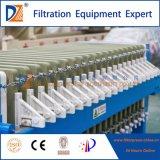 Filtropressa aperta veloce automatica per il trattamento industriale del fango dell'acqua di scarico