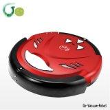 Aspirapolveri rossi intelligenti del robot per l'elettrodomestico, Mop secco ed umido, carico a basso rumore e automatico, macchina di pulizia di telecomando