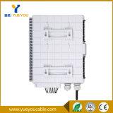Caixa portuária da terminação da fibra óptica do material 8 impermeáveis do ABS
