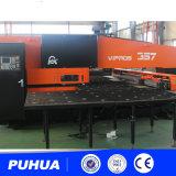 Máquina da imprensa de perfuração da torreta do CNC AMD-357