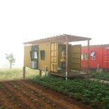 プレハブの鋼鉄輸送箱の生きている家(容器の小屋)