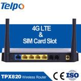 Web site drahtloses WiFi Hauptmodem 4G mit SIM Einbauschlitz