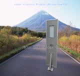 La luz de calle solar de aluminio de la potencia del precio bajo con integra
