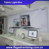 Surtidor de China de la nueva cartelera de aluminio publicitaria del rectángulo ligero de la tela del LED