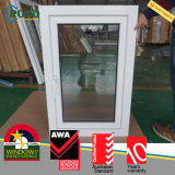 Do impato elevado do furacão do PVC Casement francês Windows