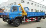 Dongfeng 4*2 anhebender Lastwagen-Kran-LKW für Verkauf