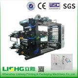 Maquinaria de impressão high-technology de Flexo do saco de plástico da película do LDPE Ytb-41600