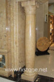 Pilier romain de /Stone de pilier de marbre de fléau de /Stone de fléau de marbre