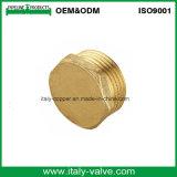 Guarnición de cobre amarillo del casquillo de la calidad de OEM&ODM/guarnición del enchufe (AV-BF-7043)
