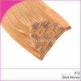 卸し売り最もよい品質のペルーのヘアークリップInsカラー毛のよこ糸