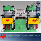 Automatischer Zug-Gummisilikon, das hydraulische Presse-Maschine vulkanisiert