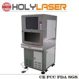 La machine d'inscription de laser de fibre en métal avec protègent le cas
