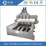 3D 4軸線マルチスピンドル木製の切り分ける機械