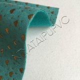 Eco-Friendly 방수 반대로 곰팡이 단화를 위한 튼튼한 PVC 가죽 물자