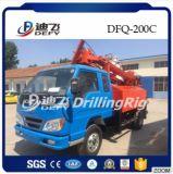 foreuse montée par camion de marteau de 200m Dfq-200c DTH