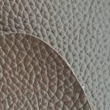 Certificazione Z009 dell'oro dello SGS che succhia il cuoio del PVC del cuoio sintetico del PVC del rilievo dell'ammortizzatore di sede dell'automobile del reticolo del litchi