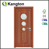 PVC Bathroom Door Glass Panel (trappe de PVC)