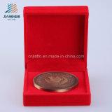 Монетка бронзы логоса корабля металла заливки формы изготовленный на заказ для подарка сувенира